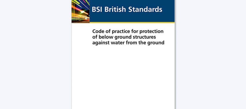 BSI British Standard for Waterproofing