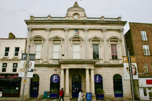 External of the Old Town Hall in Folkestone