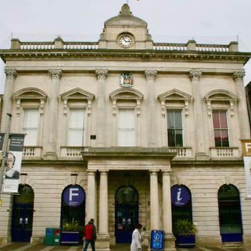 External photo of Folkestone Town Hall