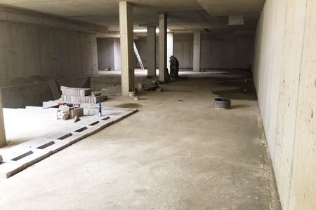 Basement protected from gas and water