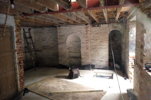 Converting a Basement in a Grade II Listed Building