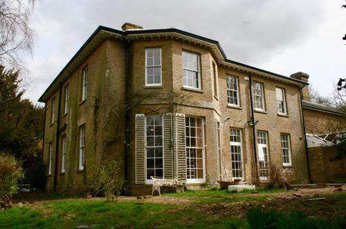 External of a Grade II Listed Building