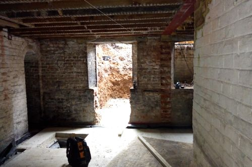 Converting a cellar in a Grade II Listed Building