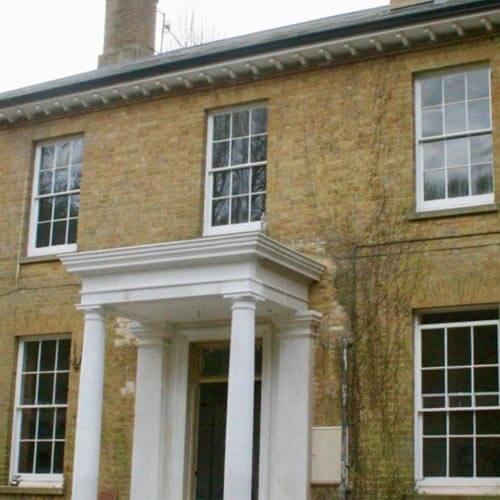 External shot of a Grade II Listed Building