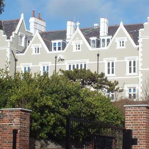 External of a school in Brighton