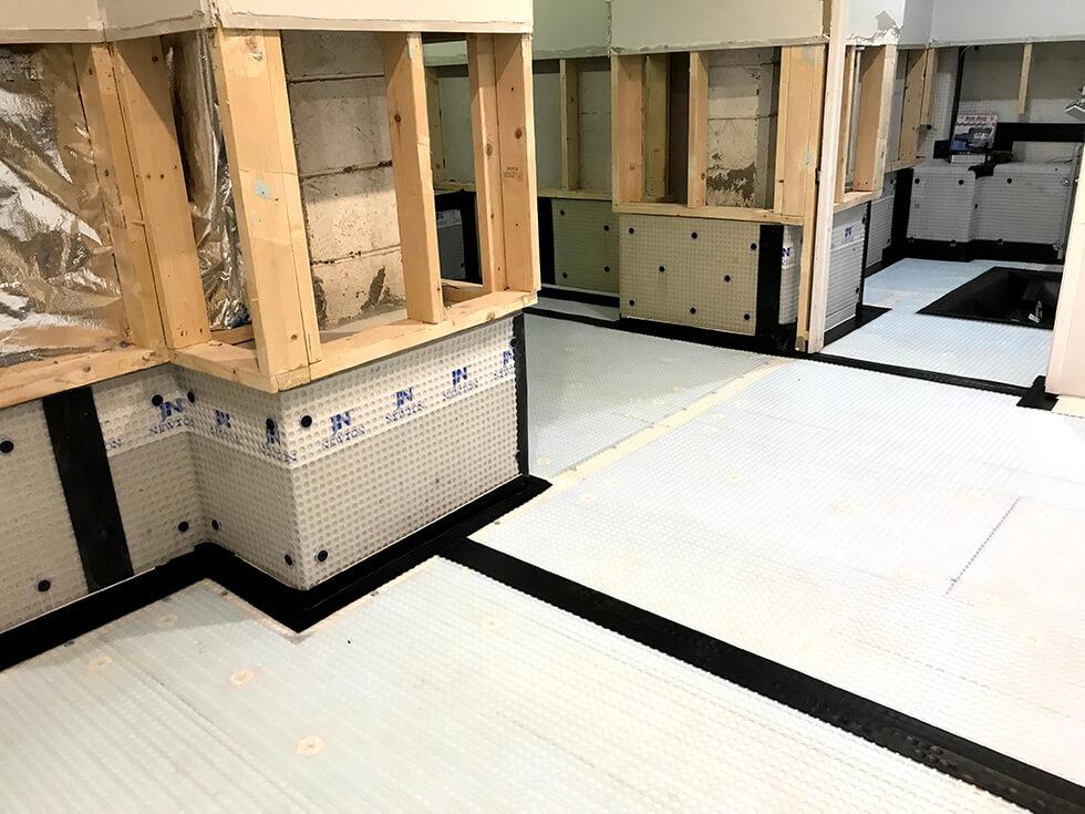 8mm Cavity Drain Membrane For Basements