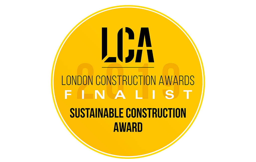London Construction Awards Logo