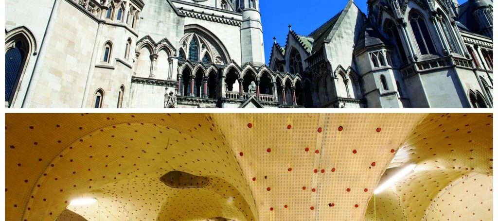 Waterproofing the Royal Courts of Justice, London