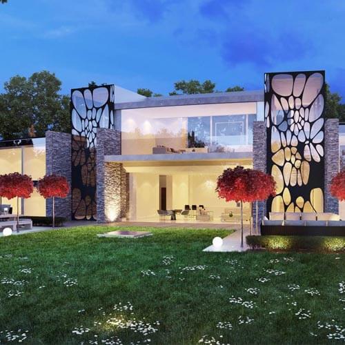 Luxury New Hillside Home