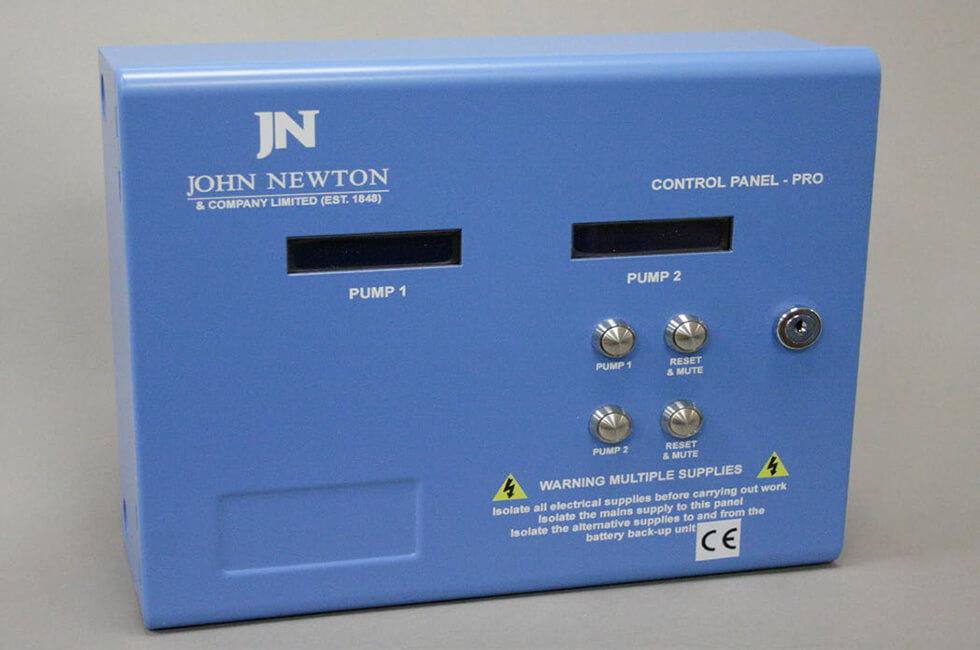 Class Leading Pump Control Panel