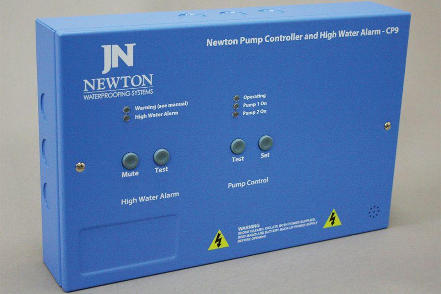 Newton Pump Controller and High Water Alarm