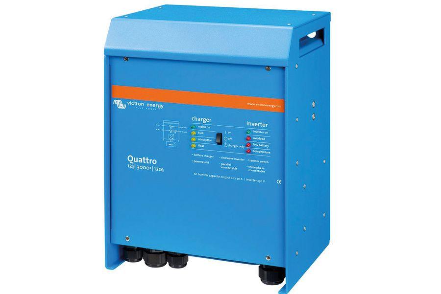 Victron Quattro Pumping Power Interruption System