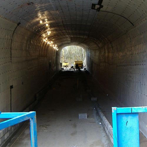Waterproofing a Converted Road Tunnel