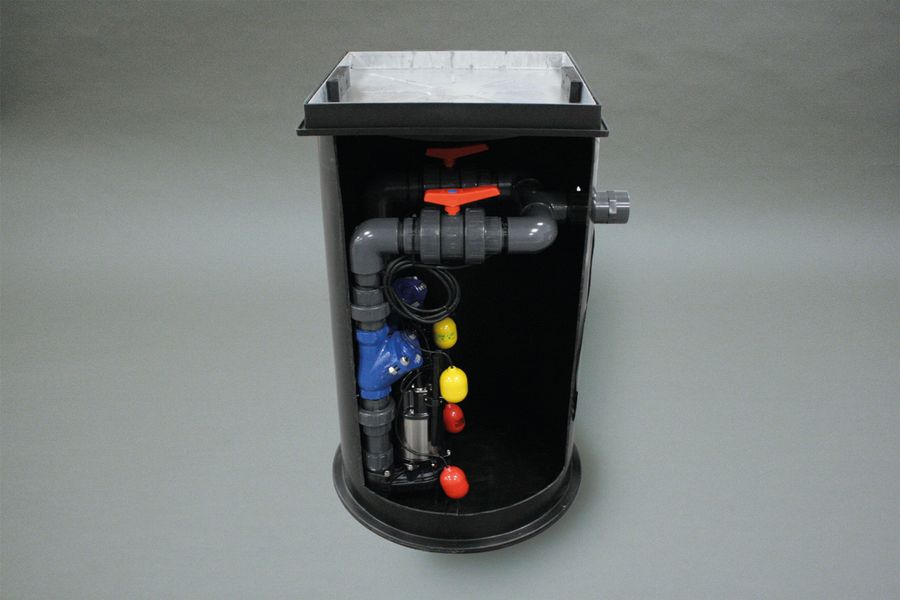 Cross section of a Sewage Pumping System