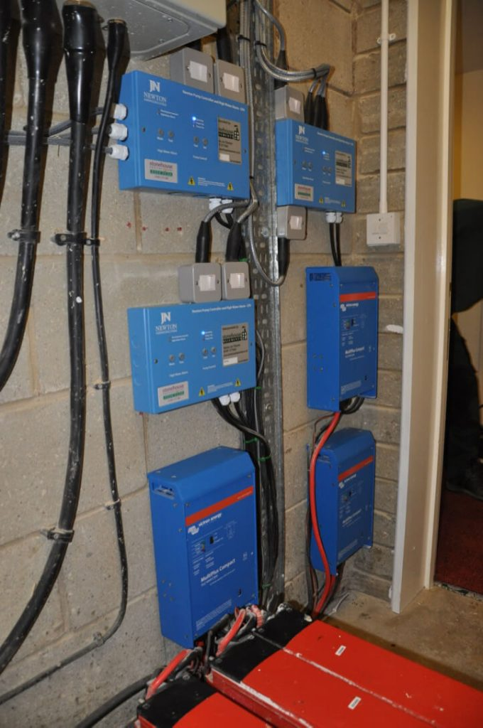 Pumping Power Interruption System