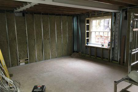 Waterproofing a basement conversion