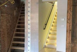 Waterproofing basement stairs