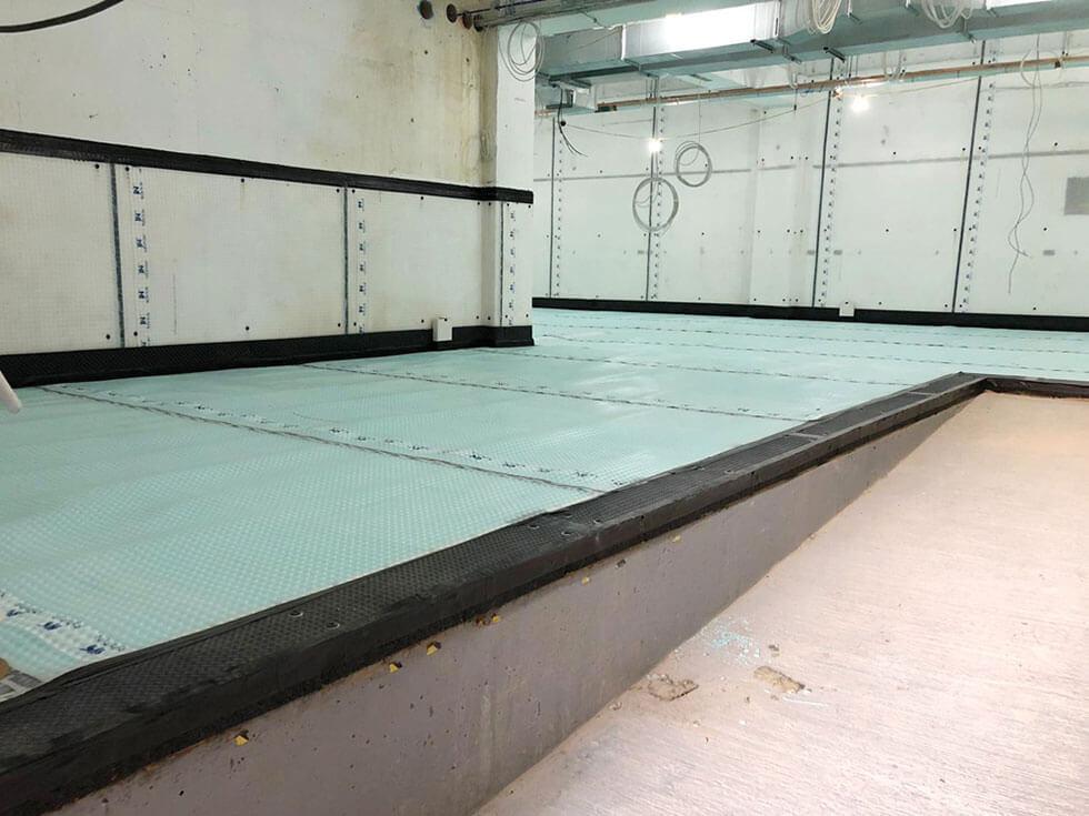 Application of Waterproof Drainage Membrane