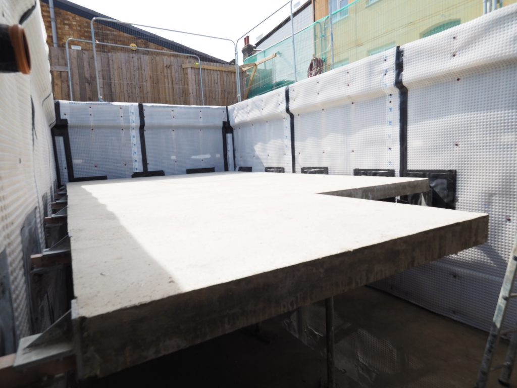 Floating Concrete Slab