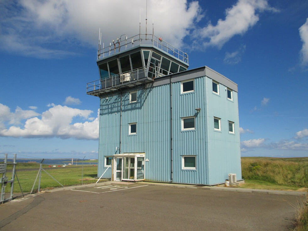 Waterproofing An Air Traffic Control Tower