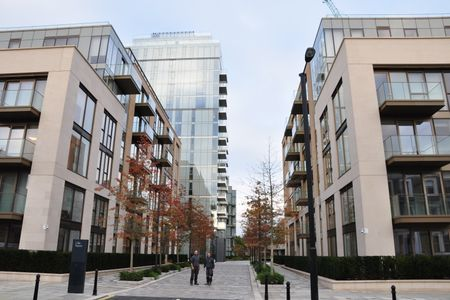 Artists impression of the completed Lillie Square development