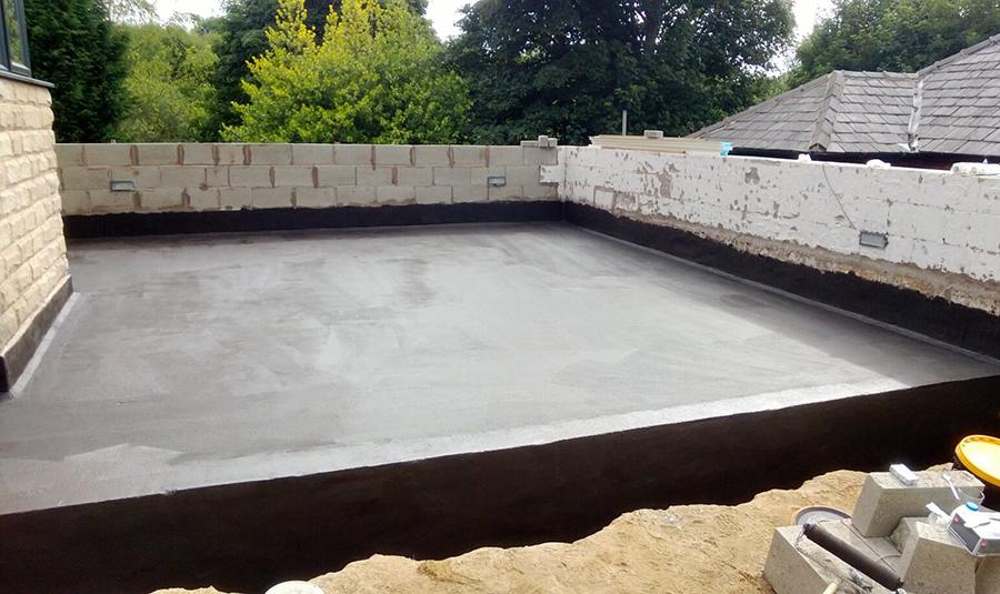Epoxy-Cement Waterproofing Coating