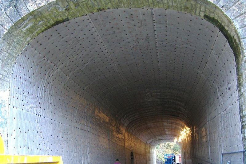 Charmouth Tunnel Installation Of Newton Membrane