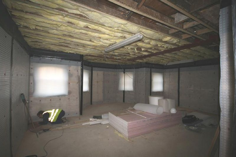 Installation of Newton System To Basement
