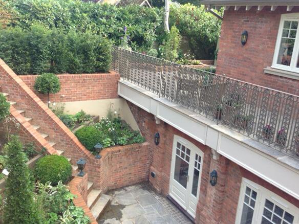New Build Terrace Waterproofing