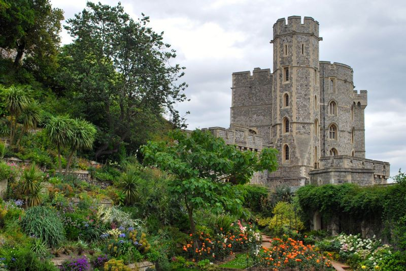 External View of Windsor Castle