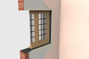 3d Drawing Damp Proofing System