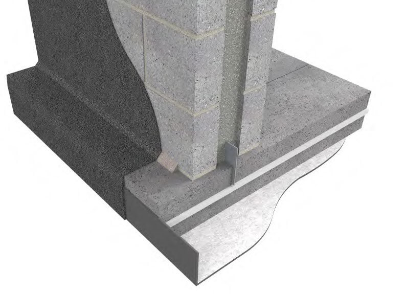 external waterproofing of block walls