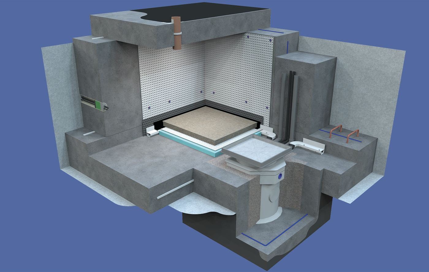 Structural Waterproofing System