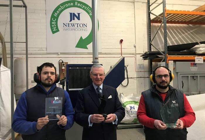 Awards for Newton Recycling Service