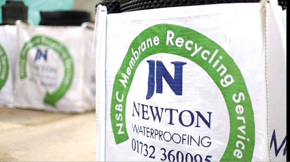 Recycling Plastic Membrane