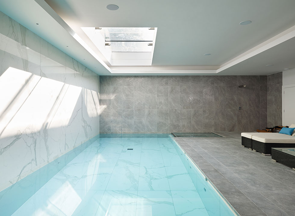basement swimming pool conversion
