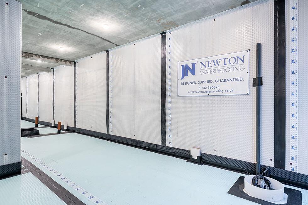 Cavity Drain Waterproofing System