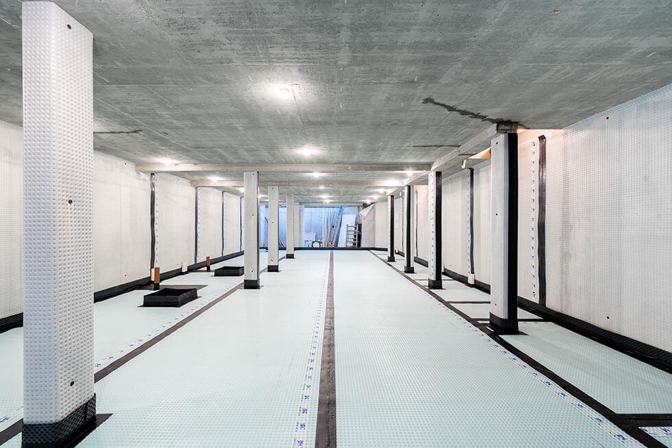 Newton Cavity Drain Membrane System