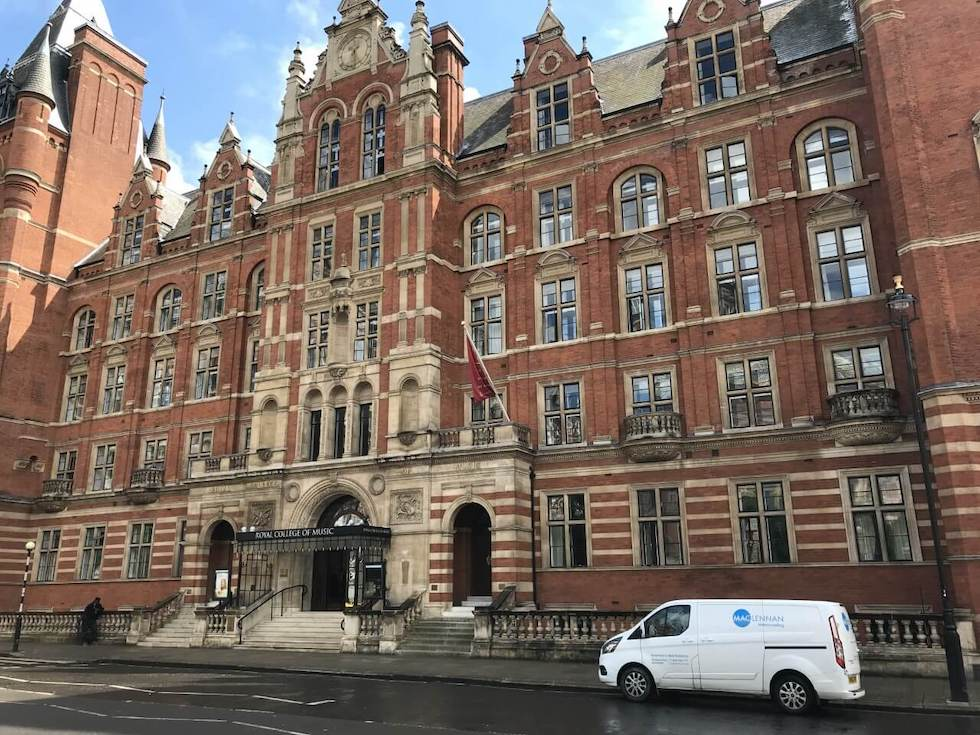 The College was opened in 1883 by the Prince of Wales.