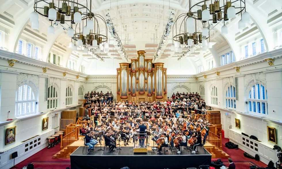 One of the College's magnificent concert halls.