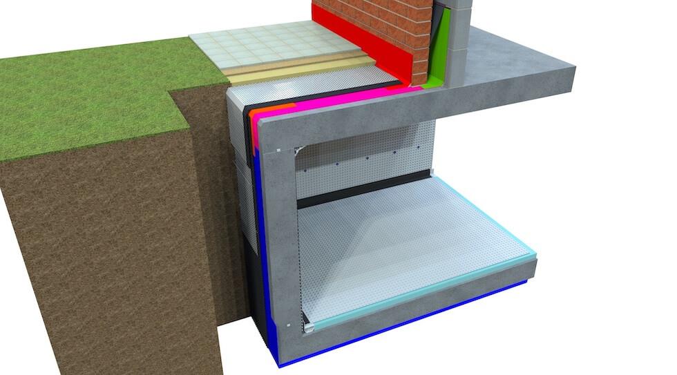 Newton Axter Podium Deck Roof Basement Waterproofing