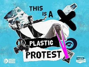 Surfers Against Sewage Plastic Protest