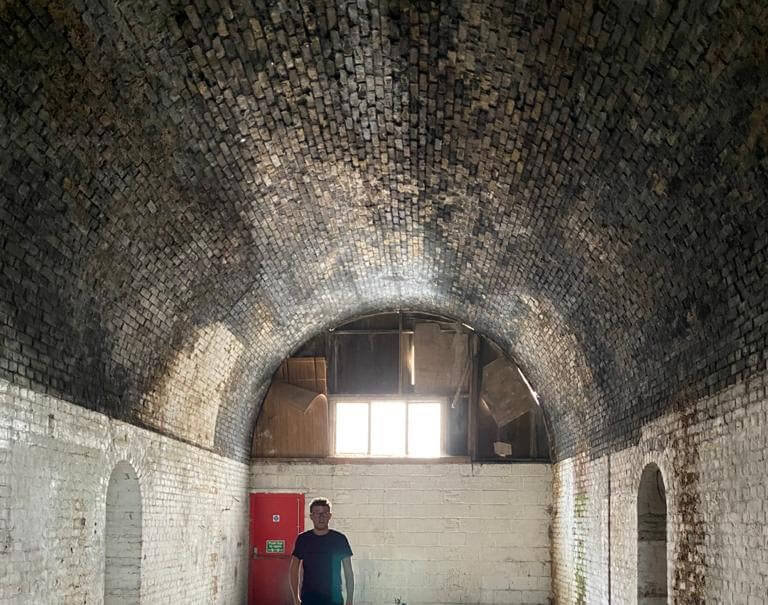 The train station arches had been empty for 25 years