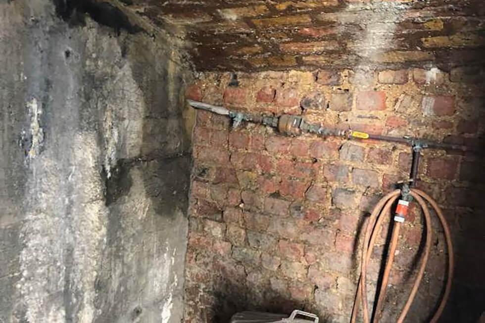 Existing basement vaults